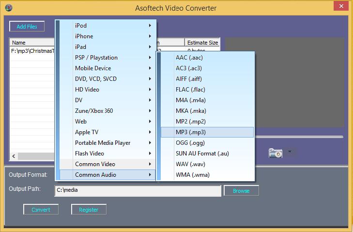 audio converter free