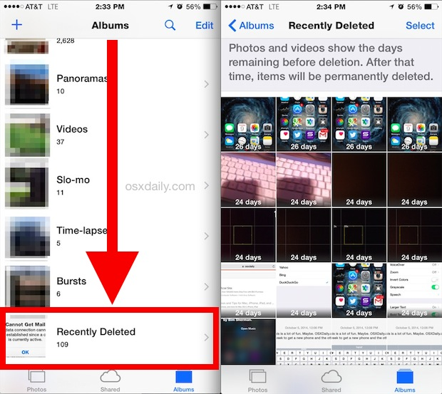 how to delete an album on iphone how to recover deleted files from iphone and android phones 19962